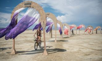 Фестиваль Burning Man — это сны наяву